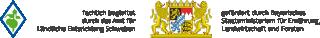 Förderhinweis: fachlich begleitet durch das Amt für Ländliche Entwicklung Schwaben; gefördert durch Bayerisches  Staatsministerium für Ernährung, Landwirtschaft und Forsten